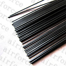 10PC 2.0mm x 500mm carbon fiber rods For RC Airplane Strengthen Rod High Quality