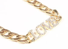 Statement gold necklace Women's Fashion Love