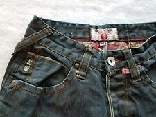 ifuku J.P.N. Japan Mens Size 28R Dark Wash Denim Jeans button Up Fly Rare