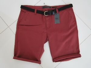 Mossimo Men's David Belted Stretch Chino Shorts Size: 40