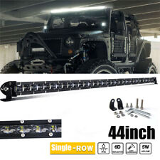 "Single Row LED Light Bar 44Inch 1800W Spot Beam LED Driving 4WD Truck 40""42""45"""