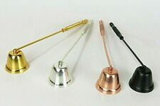 Bell Shape Candle Snuffer Metal Candle Wick Extinguisher CHOOSE ONE