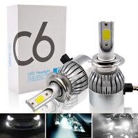 Safego 2x H7 LED Scheinwerfer Umbausatz KFZ Lampe Birnen 72W 7200lm 12V