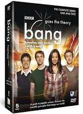 BBC Bang Goes The Theory - Complete Series 1 & 2 - 5 DVD Box  Set