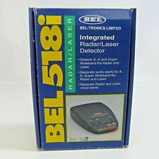Bel 518i Radar Laser Integrated Detector Bel-Tronics