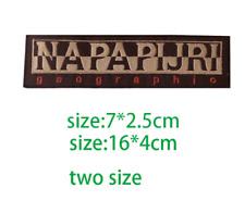 Patch Toppa Brand Logo Napapijri Abbigliamento Ricamata