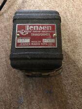 vintage Jensen Z-y4000 transformer black crinkle