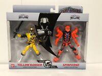 Power Rangers Mega Collection Good vs Evil NEUF Red Ranger /& ripcon