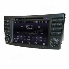 """For Mercedes-Benz W211 W219 E350 7"""" GPS Car DVD Radio Player Stereo Android DAB+"""