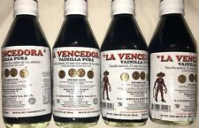 4 X La Vencedora Pure Mexican Vanilla Extract Glass 8.45oz Ea SHIPS WORLDWIDE!