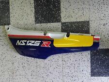 carenage coque arriere gauche flanc de selle Honda 125 NSR tc01 rothmans ns125r