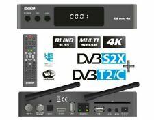 Edision 01-08-0021 Mio 4K DVB-S2X FTA STB E2 OS Linux Media Streamer - Grey