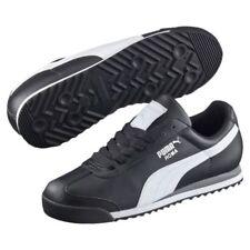 PUMA Roma Basic Classic 35357211 Black White Mens Shoes Sneakers All Sizes
