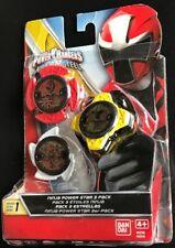 Bandai Power Rangers Ninja Steel Power Star 3 Pack 43754 Red,White,Yellow