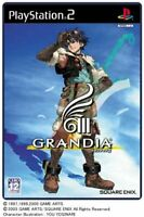 USED PS2 PlayStation 2 Grandia III 04299 JAPAN IMPORT