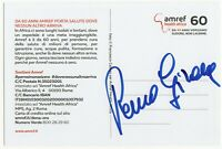 Cartolina autografata da Remo Girone Signed - Asta di beneficenza Charity Cinema