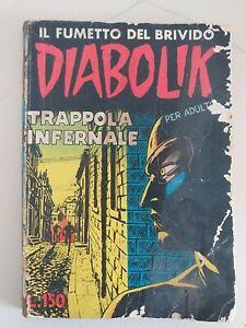DIABOLIK prima serie ORIGINALE   n.   11 - 1963