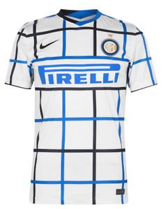 Nike Inter Mailand Away Auswärts Trikot Weiß Blau 2020 2021 Größe S Neu