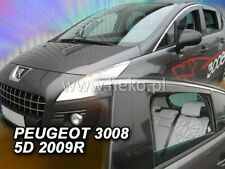 PEUGEOT 3008 5 doors  2009 - 2017  Wind deflectors 4 pc set  HEKO 26141