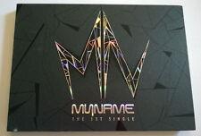MYNAME The First Single CD Korean Press  - K-POP