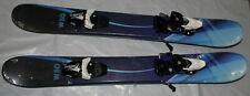 Skiboards Ski boards snowblades blue + Tyrolia RX12 Bindings fit 28-29 mondo New