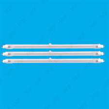 3x 400W Halogen Heater Replacement Tubes 195mm Fire Bar Heater Lamp Element Bulb