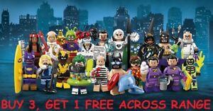 LEGO BATMAN MOVIE SERIES 2 MINIFIGURES 71020 PICK CHOOSE FIGURE ALL 20 IN STOCK