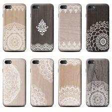 Stuff4 fundas para teléfono para HTC Desire Smartphone/encaje elegante madera /