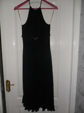 "LADIES "" KAREN MILLEN""  BLACK EVENING DRESS UK SIZE 14"