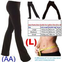 Ladies Girls Boys Men Dance Cotton Spandex Jazz Pants Trousers (AA)