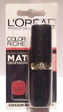 Rouge à Lèvres Color Riche Matte 344 Retro Red L'Oréal