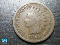 1864 BR Indian Head Cent Penny  --  MAKE US AN OFFER!  #B8534