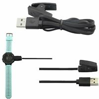 Black USB Charging Charger Clip For Garmin Forerunner 235 630 230 GPS Watch