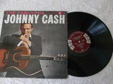 Johnny Cash The fabulous LP Album  Canada pressing