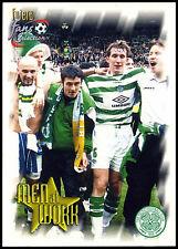 Premier League Fixtures Celtic FC #93 Futera 1999 Football Trade Card (C344)