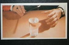 Magic Trick   Floating Pin Trick     Vintage Card # VGC
