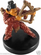 D&D mini GRAYPEAK GOBLIN ARCHER #40 Dungeons & Dragons Pathfinder Miniature nc