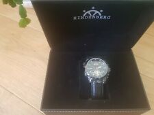 HINDENBERG EXPEDITOR PVD BLACK WATCH 370-H  (NEW)