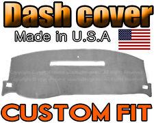 fits 2008 - 2013 CHEVROLET SILVERADO 1500 2500 3500 DASH COVER MAT / LIGHT GREY