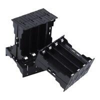 Diret 5Pcs Li-ionY Battery Plastic Case Holder for 4x3.7V 18650 Battery