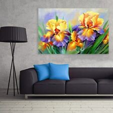 Full Drill Large Size Flowers 5D Diamond Painting Embroidery Cross Wall Decor