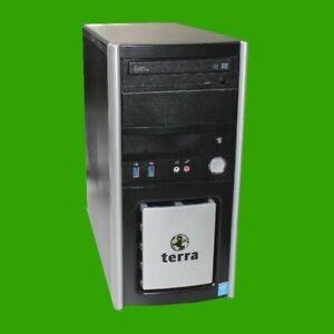 Terra Midi Tower I5-6400  4 GB RAM 500 GB HDD  DVD Brenner WIN 10 Pro Quad Core