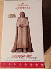 Hallmark 2017 Keepsake Ornament Luke Skywalker Star Wars  The Force Awakens