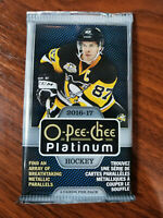 2016-17 Upper Deck O-Pee-Chee platinum packs - see details