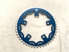 Snap BMX Products Series II 110mm 5 bolt Chainring - 44t Blue