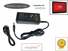 Power Supply for Fujitsu Stylistic Tablet Pc LifeBook Laptop 19V 3.42 65W Series