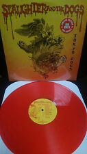 SLAUGHTER & THE DOGS - TOKYO DOGS LP Red Vinyl Punk Rock Boot Boys