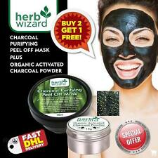 Herb-Wizard Activated Charcoal Blackhead Mask + Teeth Whitening Powder Deal