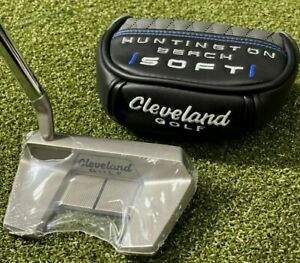 """Cleveland Golf Huntington Beach SOFT 11 Mallet Putter 33"""" w/ Cover NEW #77470"""