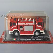 1:64 Diecast 2001 Janus 4000 Bi-Fronte BAI Italy Pumper Fire Engine Truck Model